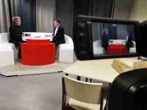 Mediatraining Benelux Training in Studio