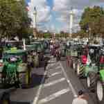 Boeren Protest ivm Stikstofprobleem
