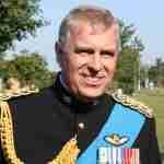 Prins Andrew in betere tijden nog niet geplaagd door het seksschandaal